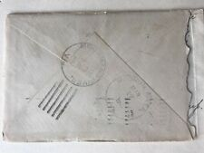 1910 Cover Backstamped Moormans River Virginia And Mechum River Virginia