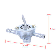 6 Petrol Aluminium fuel tank Valve On-Off Switch TAP In-line bike Delivery