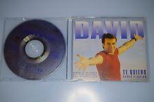 David - Te quiero CD-SINGLE PROMO