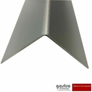 Aluwinkel Aluminium eloxiert 1mm Kantenschutzprofil Alu Winkelprofil L-Profil