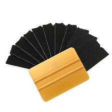 Lots 10pcs Squeegee Applicator Tools Replaceable Felt Edge Vinyl Film Wrap Kits