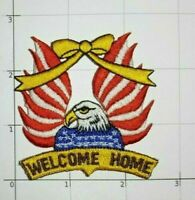 Welcome Home Patch Eagle American Flag Yellow Ribbon Support Our Troops