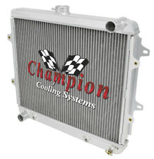 1984 - 1991, 1984 - 1991 Toyota 4 Runner 2 Row Champion ADV Aluminum Radiator