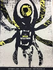 The Dead Weather - 2009 Methane Studios Poster New Orleans House Of Blues