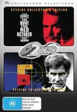 The Hunt for Red October & Patriot Games 2-Disc Set Region 4 DVD VGC