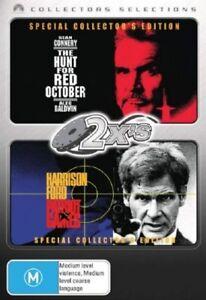The Hunt For Red October  / Patriot Games , 2 X DVDS SEALED