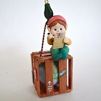 Enesco Handle With Care Christmas Ornament 2nd Protect The Earth Series Elf