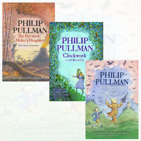 The Firework Maker's Daughter,Clockwork 3 Books Collection Set By Philip Pullman
