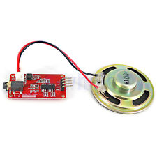 High quality UART Serial MP3 Music Player Module With 1W Speaker for Arduino HM