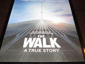 THE WALK A TRUE STORY PRESS KIT 8X10 COLOR PHOTOS RARE  JOSEPH GORDON-LEVITT