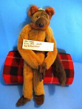 K & M International Long Legged Red Ruffed Lemur 1998 plush(310-1008)