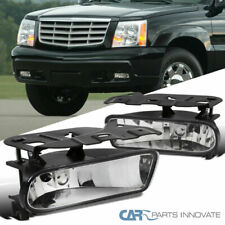 02-06 Cadillac Escalade Clear Lens Fog Lights Driving Bumper Lamps Left+Right