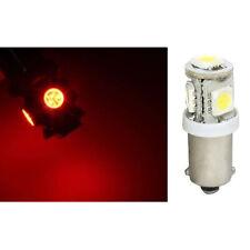 (1) Red 5-LED Dash Instrument Panel Cluster Gauge Clock Glove Box Light Bulb