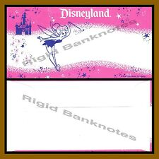 Disney 1 Dollar Envelope Only. Tinker Bell Disneyland