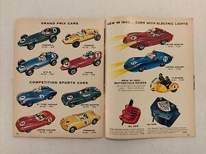 1962 Lionel Slot Cars Toy Catalog