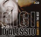 Gigi D'Alessio: Quanti Amori, The Best Of - Box 3 CD