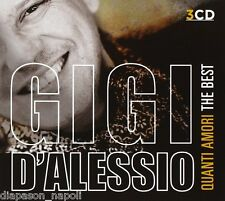 Gigi D'Alessio: Quanti Amori, The Best Of - Box 3 CD