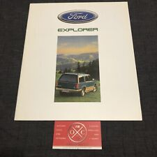 Vintage Ford Explorer Brochure Japanese Catalog Prospekt Rare 91-94 92 93 UN46