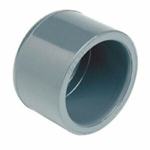 Calotta PVC incollaggio tappo 16 20 25 32 40 50 63mm tubo femmina acqua chiusura