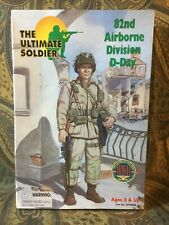 21st Century Toys Army Paratrooper Action Figure 82nd Airborne Division D-Day
