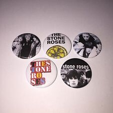 5 The Stone Roses button badges I Am the Resurrection wanna be adored Turns into