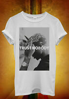 Tupac 2 Pac Shakur Trust Nobody Funny Men Women Unisex T Shirt Tank Top Vest 22