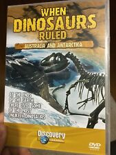 When Dinosaurs Ruled - Australia And Antarctica region 2 DVD (documentary)