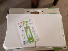 Wii Fit Plus With Balance Board with Game & Balance Board