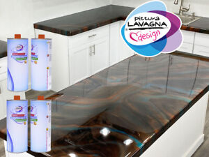 Epoxy Resin (A+B) Flooring and Countertop Kitchen KG 0,800 x 2 Various Colors