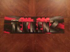 Tekken 2 Video Arcade Game Marquee Translight, Namco