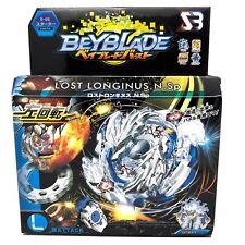 TOUPIE BEYBLADE BURST Lost Longinus .N.Sp + lanceur a fil B-66