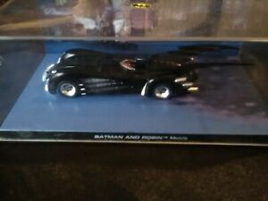 Batman car. Batman and Robin mobile car 1/43 display case
