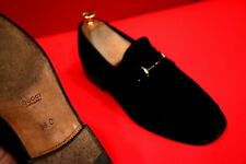 $689.00 !! GUCCI WOMEN'S  BLACK SUEDE  ICONIC  LUXURY LOAFERS SHOES SIZE 38 C