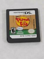Phineas and Ferb (Nintendo DS, 2009) ~ TESTED ~ Game Only ~ Ships FREE