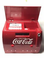 Coca Cola Collectible Vintage Radio/Cassette Player OTR-1949 Old Tyme Cooler
