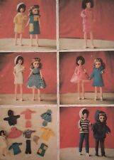 Vintage Knitting Pattern Doll Sindy Barbie Teenage Doll Clothes Lots of Outfits