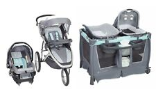 Stroller Baby Trend Jogger Travel System with Car Seat Nursery Playard Crib Set