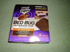 Bed Bug Interceptor Hot Shot Safe Nonchemical Pest Control Detect 4Pack Freeship