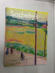 SOTHEBY'S AMSTERDAM 2002 MODERN CONTEMPORARY ART CATALOGUE ARTE CONTEMPORANEA