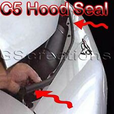 C5 Corvette Z06 LS1 LS6 Performance Hood Seal Premium EPDM Rubber Weatherseals
