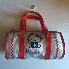 Sanrio Hello Kitty Summer 1999 Clear Red Bag Sailor