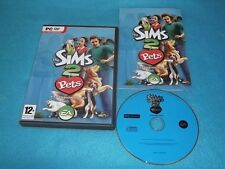 THE SIMS 2 PETS EXPANSION PACK PC DVD-ROM V.G.C. FAST POST COMPLETE