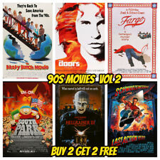90s carteles de cine Vol 2 A5-clásico de colección de arte de Pared Decoración de cine de Tienda Bar Pub