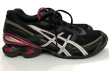 Asics Gel Frantic 6 Black Pink Running Shoes Women T1E5N Size 8.5 SH