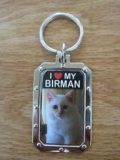 Key Chain I Love My Birman Cat Nos
