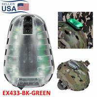 Gel Tactical E-Lite Strobe Lamp Survival Helmet LED Airsoft IR Signal Light Tool