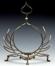 ANTIQUE AESTHETIC SILVER PLATED LETTER/TOAST RACK 1860