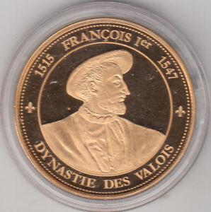 Médaille contemporaine Les Rois de France François Ier 1515-1547