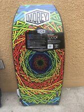 New Morey W/ defect Boogie Mach Tube Rail 9Tr Surf Bodyboard Rainbow/green Rare
