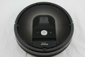 iRobot Roomba 980 Black Robotic Vacuum Cleaner -Used